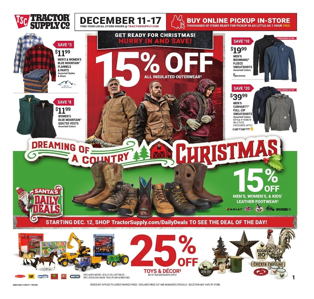 Tractor Supply Christmas page 1